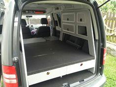 VW caddy conversion