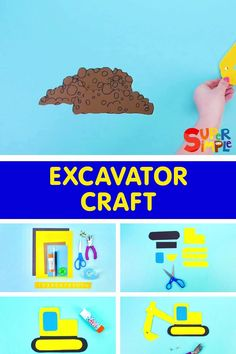 Make your very own excavator craft!