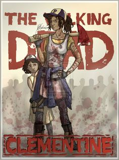 The Walking Dead Game Clementine | Clementine, The Walking Dead (All Grown Up) 1. by handraw on ...