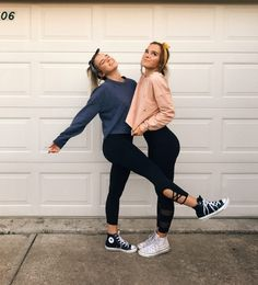 Pin by poof apparel on trending on social bff pictures, frie Best Friend Poses, Best Friend Outfits, Poses With Friends, Matching Outfits Best Friend, My Best Friend, Bff Poses, Cute Poses, Cute Friend Pictures, Cute Bestfriend Pictures