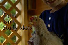 #farm #unitstudy @mylearningtable.com