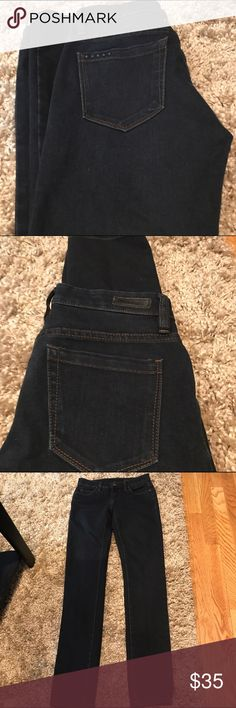 """Blank NYC Jeans 61% cotton  39% T-400. Soft and stretchy. Length is 38""""  inseam is 28""""  rise is 10""""  leg opening is 5""""  across the waist is 13"""" Blank NYC Jeans Skinny"""