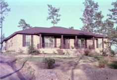 Our Home in Mobile in 1977