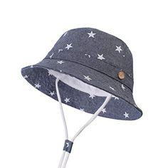 Azul//Dinosaurio Sombrero de Pescador para Ni/ños Ni/ñas Algod/ón Transpirable de Protectora del Sol al Aire Libre para Primavera Verano Oto/ño Happy Cherry