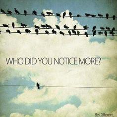 Don't gotta follow the crowd. :)