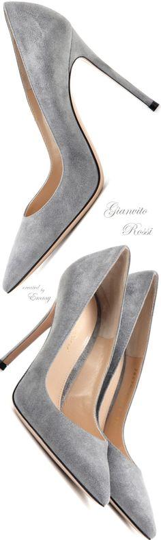 Brilliant Luxury ♦ Gianvito Rossi Gianvito 105 suede pumps