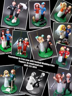 18 Best Soccer Wedding Cake Toppers images  b5db458e1