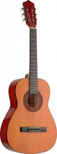 Stagg C530 3/4-Size Nylon String Classical Guitar – Natural $ 106.05 Classical Guitars Product Features Basswood Top, Back & Sides Nato Neck Solid Maple Fingerboard & Bridge Natural High Gloss Finish 3/4-Size Size Classical Guitars Product Description Stagg C530 3/4 Size Classical Guitar – Natural More .. http://www.guitarhomes.com/stagg-c530-34-size-nylon-string-classical-guitar-natural-16/