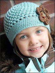 Crochet Baby  Kids Downloads - Chloe Cap