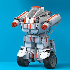 HobbyBuying online store supply Xiaomi Mi Bunny Mitu Intelligent Building Blocks Robot WIFI Bluetooth Puzzle product to sale at wholsale price. Rc Robot, Robot Arm, Robots For Kids, Kids Toys, Bluetooth, Arm Cortex, App Control, Assemblage, Puzzle Toys