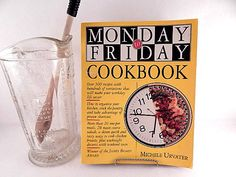 Monday to Friday Cookbook by Michele Urvater 1995 Paperback Family Recipe Book