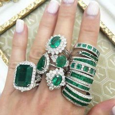 I LOVE emeralds to the moon and back!
