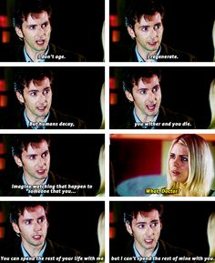 Someone that you-- Rose Tyler I-- // please, no