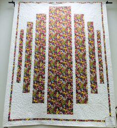 """Shenandoah"" Quilt  in 2014 MN Shop Hop Fabric"