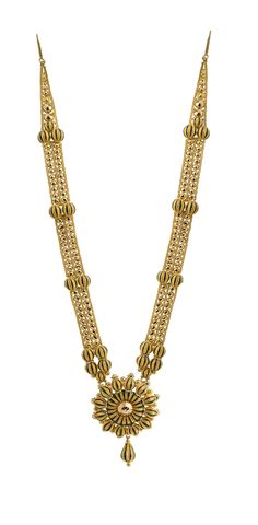 Slender Necklace with a stunning Pendant and attractive beads..