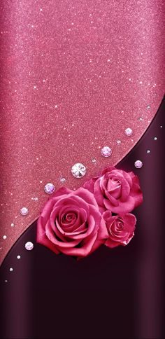 50 Trendy flowers wallpaper for phone pattern pink roses Wallpaper Iphone Liebe, Glitter Wallpaper Iphone, Love Wallpaper Backgrounds, Bling Wallpaper, Luxury Wallpaper, Trendy Wallpaper, Pretty Wallpapers, Cellphone Wallpaper, Pink Wallpaper Cartoon