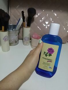 Today I want to talk about this product❤ This is the water which is taken from rosepetals and it is the best thing ever made ! You can use it as a toner or as a primer ! U can also use it to reduse the redness of the face and as a treatment against ACNE ! You can also use it as a spray for setting your makeup  so as you understand this is the best and the cheapest product u can ever use  #acne #acneskin #proneskin #skinptoblems