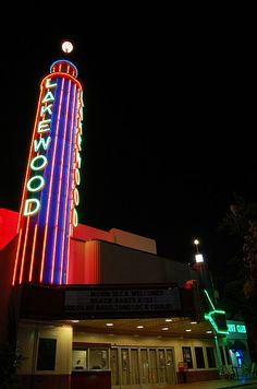 Lakewood Theatre, Dallas, TX.