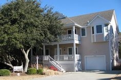 """Corolla house rental - Front of """"Hark the Sound"""""""