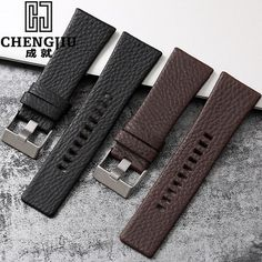 11.38$  Buy now - Durable 20 24 26 27 28 mm Soft Watch Bands For Diesel Watch DZ7313 DZ7322 DZ7257 Women's Men's Watch Straps With Sliver Buckle  #buychinaproducts