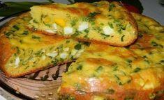 Закусочный пирог волшебный! Он очень вкусный и целебный!😃  ПИРОГ ЗАКУСОЧНЫЙ  ИНГРЕДИЕНТЫ:  Для теста:  - 4 яйца; - соль; - 7 ст. л. муки; - 1/3 ч. л. соды; - 200 г сметаны; - 1 ст. л. майонеза.  Для начинки: - 6 вареных яиц; - большой пучок лука; - соль.  ПРИГОТОВЛЕНИЕ:  1. Яйца взбить с солью. Добавить сметану и майонез. Перемешать.Добавить соду и муку. Замесить тесто.Для начинки порезать вареные яйца, зеленый лук. Посолить и перемешать.Я готовила пирог в мультиварке, но его можно испечь…