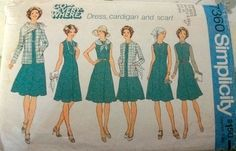 Vintage Simplicity 7360 by MyThingsFound on Etsy, $4.00