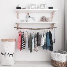 Girl Room, Girls Bedroom, Baby Room, Ikea Montessori, Slow Living, Kids Corner, Children's Place, My Dream Home, Wardrobe Rack