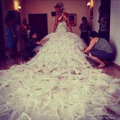 Peacock Wedding Dress   Peacock Wedding Dress   We Heart It
