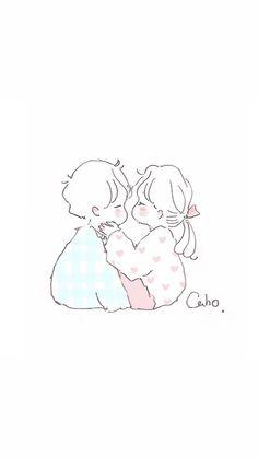 Phone Wallpapers Tumblr, Cute Wallpapers, Korean Illustration, Illustration Art, Magic Tricks For Kids, Doodle Icon, Png Icons, Cute Love Cartoons, Dibujos Cute