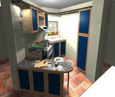 Design Your Kitchenautocad 2D 3D  Autocad Kitchens And Joinery Gorgeous Autocad For Kitchen Design Design Ideas