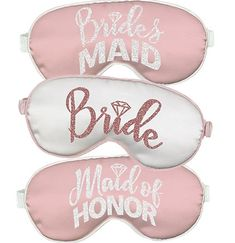 Bachelorette parties 280138039308371845 - For an inexpensive bachelorette party favor, our Bridal Party Rose Gold Sleep Masks are a thoughtful and fun addition to any gift bag! Great for a spa bachelorette party! Source by thobachelorette Bachelorette Slumber Parties, Bachelorette Party Scavenger Hunt, Bachelorette Party Favors, Bridal Party Pajamas, Sleepover Party, Pajama Party, Sleep Mask, Rose Gold, Bridal Shower