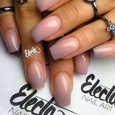 Sns Ombre Nails Pink And Grey Nails In 2019
