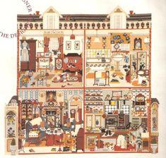 Cross Stitch Dollhouses: Dolls House