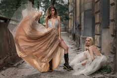 The story about modern princesess #LOULOUTHEBRAND;  Foto: © The Storyalist; Clothes: LOU LOU the brand  Models: Ana Maria Gagea&Claudia Benu Location: Ză Lokal & The Victorian Rose Project: www.merakigirls.ro  #fashion #romaniandesigners #designers #loulouthebrand #thestoryalist #models #merakigirls #dresses #dress #fairytaile #amazingtulle #tulle #princessdress #stunningdress
