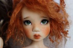 OOAK FS Laryssa with modded ears, MSD BJD by Kaye Wiggs