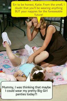 humiliate Husband baby spank