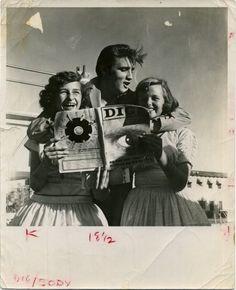Candid Elvis,   Snapshots  1950s