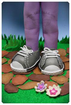Fofucha con zapatillas mustang  http://www.xeitosas.com/
