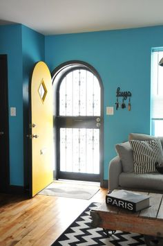 Bree & Andy's DC Home Hits the Bright Spot House Tour | Apartment Therapy