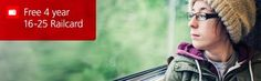 FREE 4 year 16-25 railcard with Santander 123 Student Account!