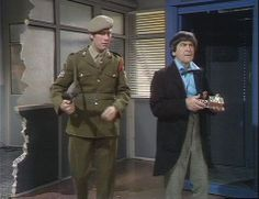 The Second Doctor and Sgt. Benton