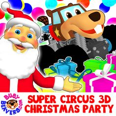 Kids, Parents & Friends! You are all invited to Busy Beavers' Christmas Party in the Super Circus Ball Pit Packed with Monster Trucks, Santa Claus & his Reindeer, and lots of surprises! http://bit.ly/SC-Christmas-Party-SG