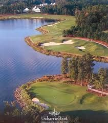Old North State Club, New London, NC, If it's good enough for the ACC Men's Golf Tournament, then you should think about playing it.   Watch out for 16, 17 & 18 !