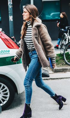 If it's freezing outside, invest in a pair of these stylish shoes to instantly update your winter outfit.