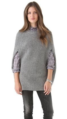 LOMA Cape Sweater...WOW I LOVE~LOVE THIS SWEATER...it's definitely not a sweater u see everyday!!!! <3