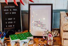 Photo Guest Book Sparkly Wedding Anna Pumer Photography #GuestBook #Wedding