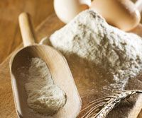Alicia's Gluten-free Flour Blend (use in your favorite recipe for muffins, breads or other baked goods).