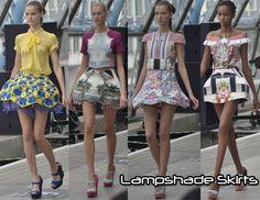 Lampshade skirts