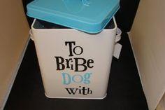 Treat Tin - To Bribe Dog With!: Amazon.co.uk: Kitchen & Home