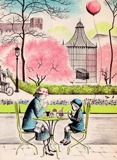 from City Springtime, written by Helen Kay, illustrated by Barbara Cooney (1962).